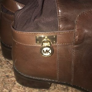 Brown Knee High Michael Kors Boots